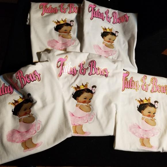 14 Off Tops Custom Made Baby Shower Shirts Poshmark
